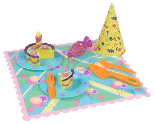 Dora the Explorer Birthday Cake Play Food Set Works with Talking Kitchen