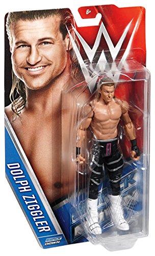 DOLPH ZIGGLER - WWE SERIES 64 MATTEL TOY WRESTLING ACTION FIGURE