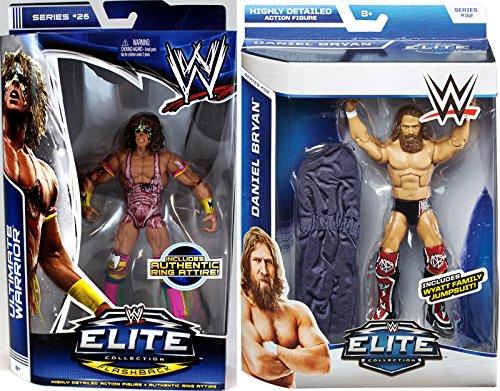 PACKAGE DEAL Connors Cure Package Deal - Ultimate Warrior Elite 26 Daniel Bryan Elite 32 - WWE Mattel Toy Wrestling Action Figures