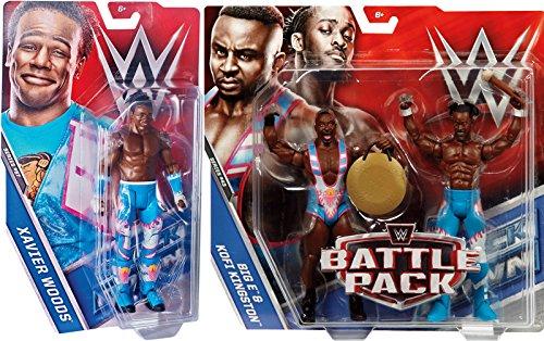 PACKAGE DEAL The New Day Big E  Kofi Kingston - Battle Packs 43 Xavier Woods - Series 67 WWE Mattel Toy Wrestling Action Figures