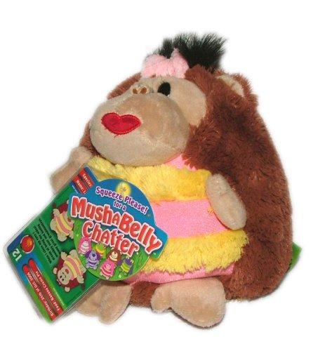 Mushabelly Chatter Lila the Monkey 7 Plush
