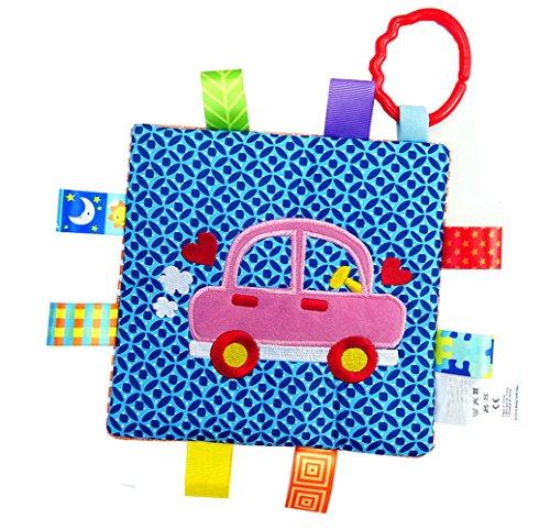Handmade Teething Cloths 1-Pack by LASLU - Baby Teething Toys  Teething Blanket - Infant Baby Toys