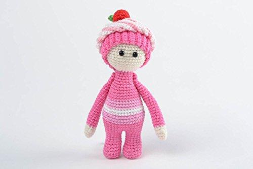 Beautiful Interesting Bright Adorable Sweet Soft Handmade Crochet Cotton Toy