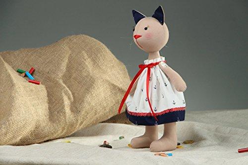 Cotton Toy Sailor Cat