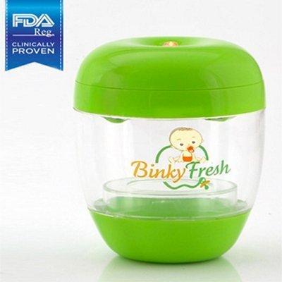 Binky Fresh UV Pacifier and Baby Bottle Sanitizer- Green by Binky Fresh