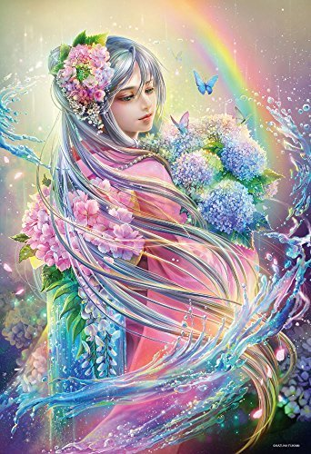 1000 Piece Jigsaw puzzle Goddess God of water micro-piece 26x38cm by Puzzles