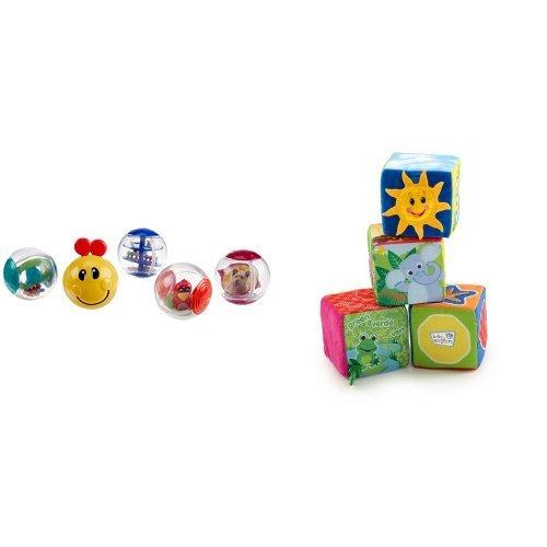 Baby Einstein Roller-pillar Activity Balls and Explore Discover Soft Blocks