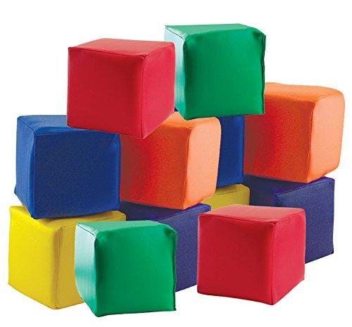 ECR4Kids SoftZone Toddler Soft Blocks 12-Piece Set