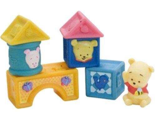 Fisher Price Pooh Babies Soft Blocks