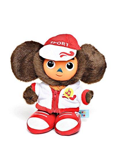 Cheburashka Soft Plush Toy in Official Russian BOSCO Olympic Team Uniform