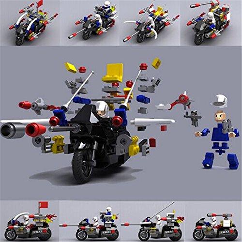 EverJoy 124 24G Motorcycle Blocks Puzzle Assembling Educational Toy EJ5001