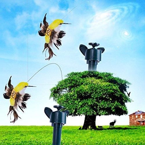 New Solar Power Childrens Toys Shake Flying Hummingbird