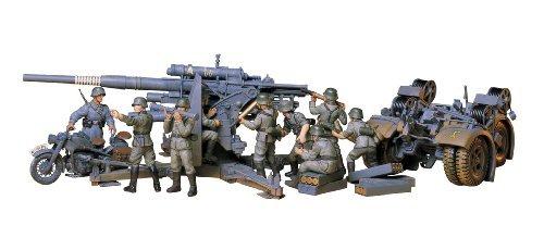 Tamiya Models German 88mm Gun Flak 3637 Model Kit Model TM35017 Toys Play