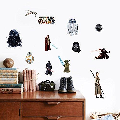 Star Wars Force Awakens Room Decals