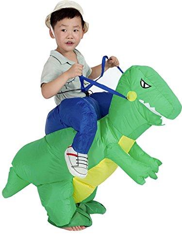 ZYZB Inflatable Kids Dinosaur T-REX Fancy Dress Halloween Costume