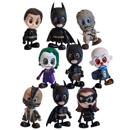 Hot Toys Batman Cosbaby Batman Set of 9 - The Dark Knight Rises The Dark KnightBatman Begins Set Of 9 MISB