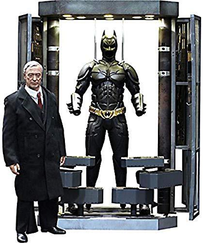 Hot Toys Batman Dark Knight Rises 16 Scale Collectible Figure Set Batman Armory Alfred Batman