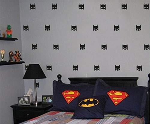 Wall Stickers Art Decor Decals Batman Set for Nursery Kids Room Living Room Bedroom