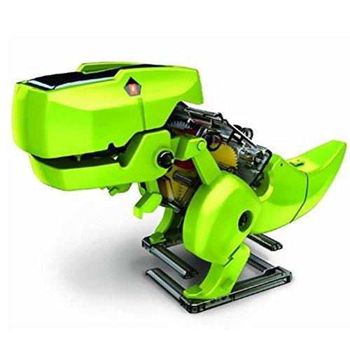 ELSKY 4 In 1 Transforming Solar Robot Toy KitDinosaur Robot KitEducational Model Building Kits DIY