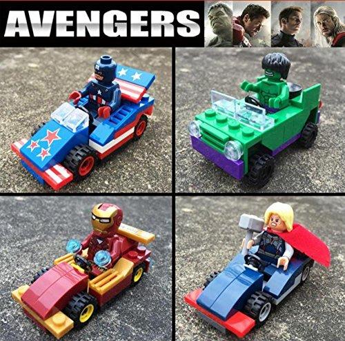 New Lepin03002 4pcsset Marvel Minifigures Batman Superman Spiderman Action Figures Toys mänguasi kingitus näitaja