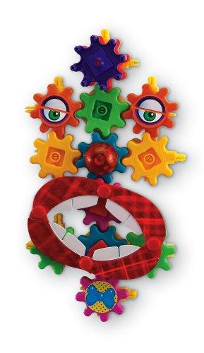 Learning Resources Gears Gears Gears Magnetic Goofy Grins Motorized Set