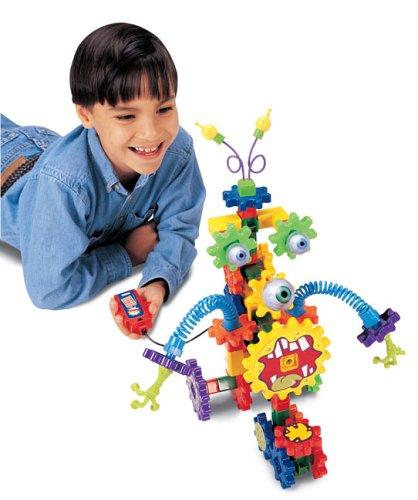 Learning Resources Gears Gears Gears Oogly Googly Motorized Building Set