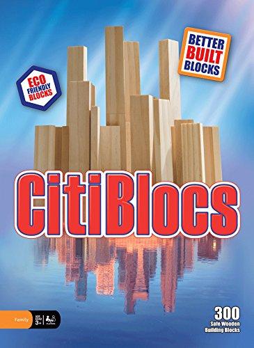 CitiBlocs 300-Piece Natural-Colored Building Blocks