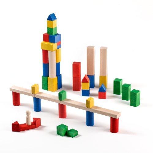 Milani Colored Building Blocks Set 51-Piece