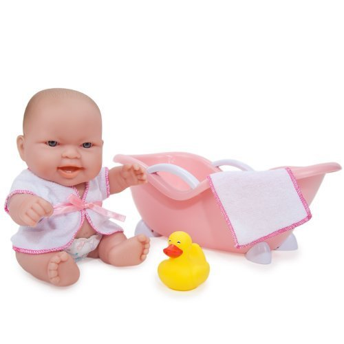 JC Toys Lots to Love Doll with Bathtub Expressions May Vary by JC Toys Group Inc