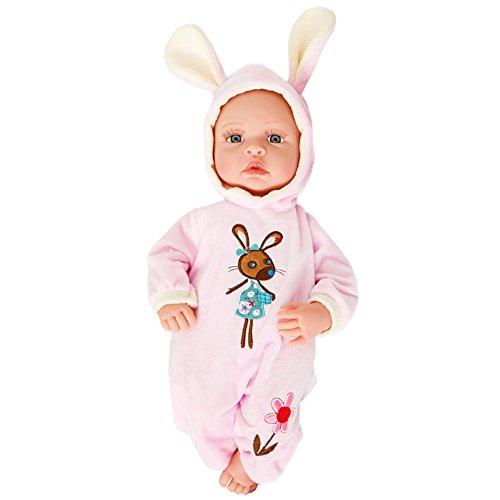 Lifelike Realistic Baby Doll Soft Body Play Doll High Quality Doll A