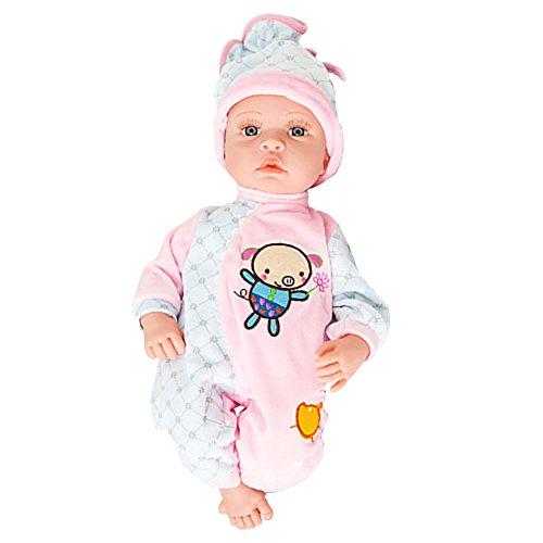 Lifelike Realistic Baby Doll Soft Body Play Doll High Quality Doll C