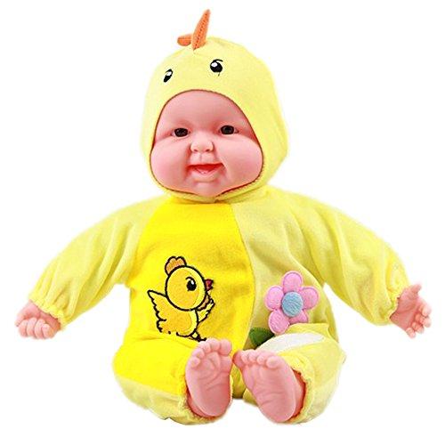 Lifelike Realistic Baby Doll Zodiac DollSoft Body Play DollChicken Baby Doll