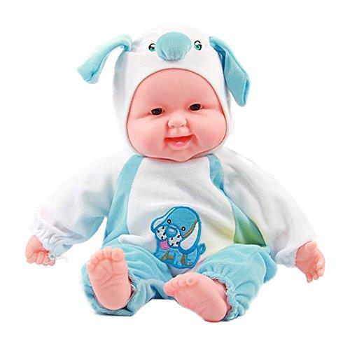 Lifelike Realistic Baby Doll Zodiac Doll Soft Body Play Doll Dog Baby Doll