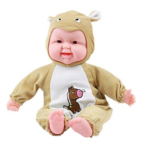 Lifelike Realistic Baby Doll Zodiac Doll Soft Body Play Doll Horse Baby Doll