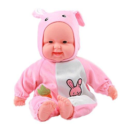 Lifelike Realistic Baby Doll Zodiac Doll Soft Body Play Doll Rabbit Baby Doll