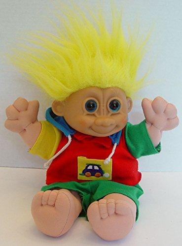 Russ Troll Doll Soft Body Plush Large Toddler Boy 13 Tall