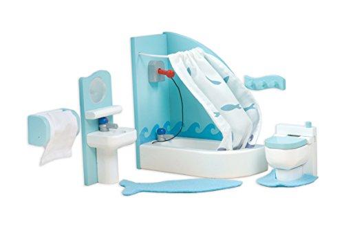 Le Toy Van Dollhouse Furniture Accessories Sugar Plum Bathroom