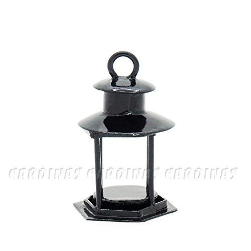 Odoria 112 Miniature Vintage Metal Candle Lantern Dollhouse Decoration Accessories