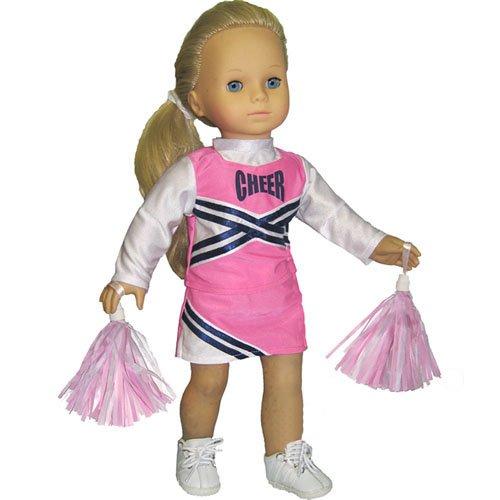 Lt Blue /& Navy Cheerleader Set fits American Girl Doll
