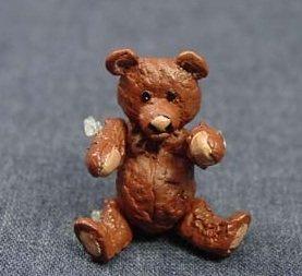 Heidi Ott Dollhouse Miniature Animal 112 Scale Metal Bear Brown 075 XZ231BR