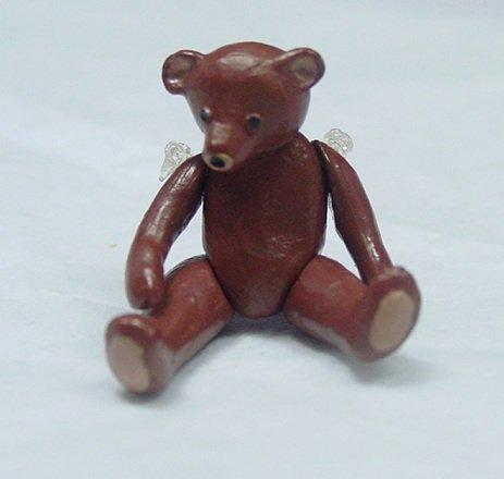 Heidi Ott Dollhouse Miniature Animal 112 Scale Metal Bear Brown 125 XZ232BR