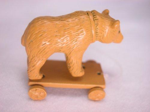 Heidi Ott Dollhouse Miniature Animal 112 Scale Metal Bear Gold 125 XZ237GO