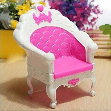 Lanlan Fashion Mini Dollhouse Furniture Living Room Set Chair for Barbies Doll Bedroom Furniture Dollhouse