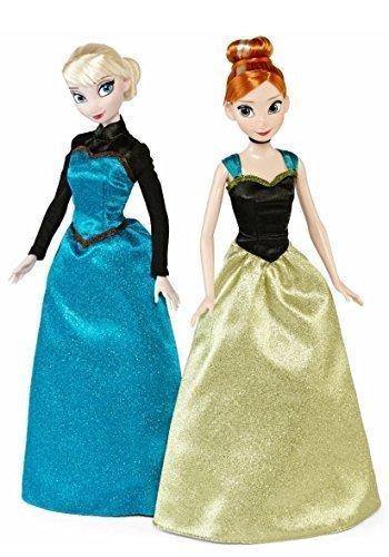 Disney Frozen Coronation Elsa and Anna Classic Dolls 2-Pack