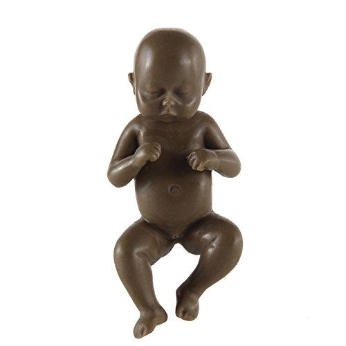 315 inch Little Reborn Baby Boy Dolls Realistic Mini Lifelike Full Body Newborn Brown Child