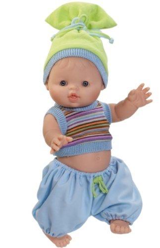 Paola Reina Los Gordis Albert 134 Vinyl Baby Boy Doll Made in Spain