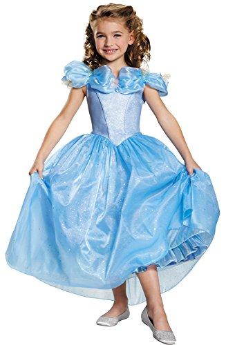 Princess Prestige Cinderella Theme Outfit Toddler Child Halloween Costume Child S 4-6X Blue