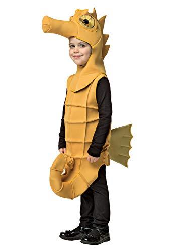 Rasta Imposta Seahorse Outfit Funny Theme Fancy Dress Toddler Child Halloween Costume Child S 4-6 Yellow