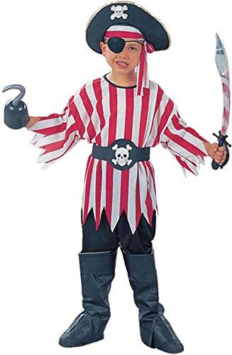 Childs Pirate Boy Halloween Costume SizeMedium 8-10