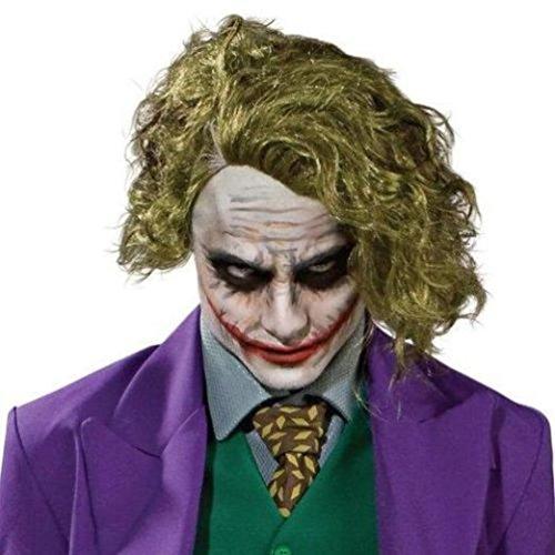 Mememall Child Joker Wig Dark Knight Ledger Movie Boys Halloween Costume